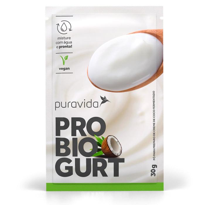 iogurte vegano pura vida